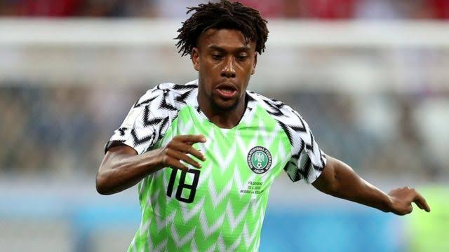 JUST IN: Iwobi ruled out of Benin clash after testing positive for Covid-19