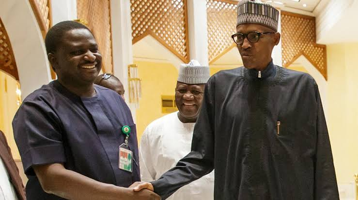 Femi Adesina cautions those calling for President Buhari's resignation