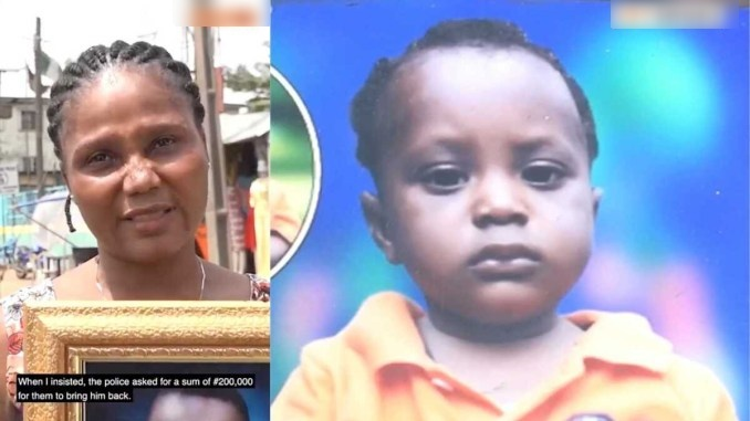 Lagos police reacts to allegation of giving out missing child to wrong mother