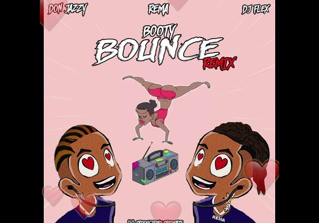 DJ Flex & Rema - Booty Bounce Afrobeat Remix