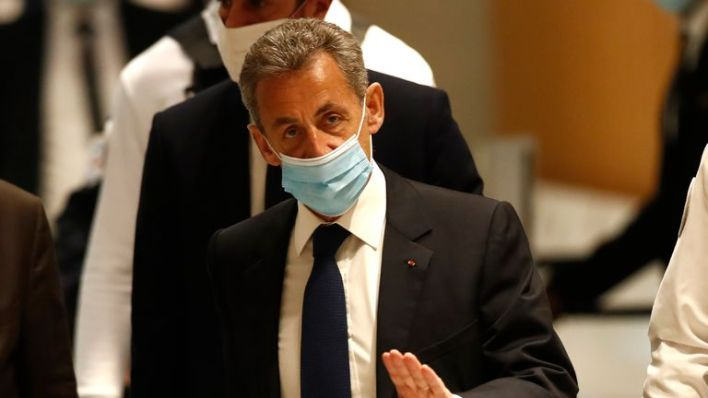 French ex-president Nicolas Sarkozy convicted for corruption