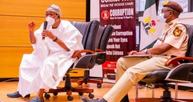 Aregbesola: Immigration officers to now use body cameras