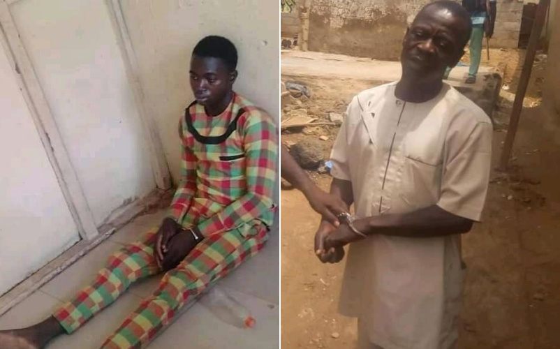 PHOTOS: Suspected kidnapper arrested in Nasarawa allegedly confesses to selling children for N1000 each