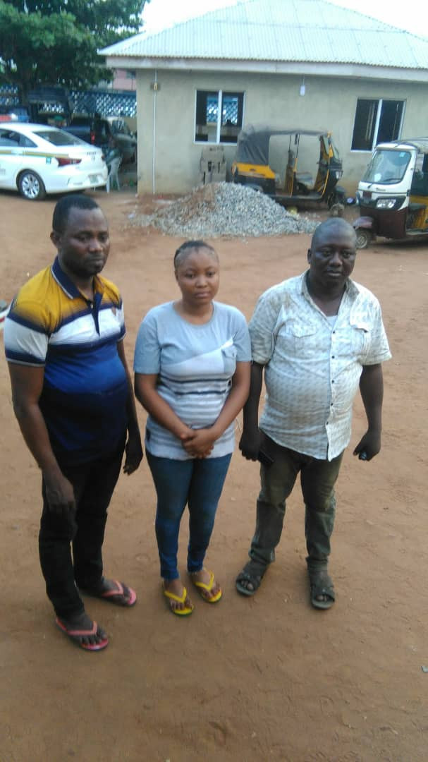 PHOTO: Three kidnap victims rescued unhurt in Ogun