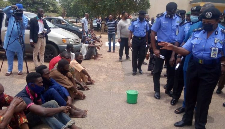 Five persons paraded in Ibadan for selling human heart at N10k