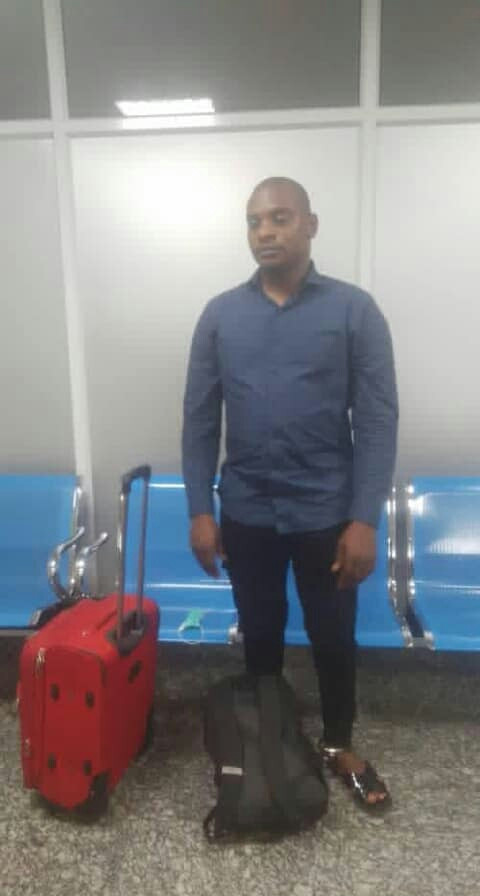 PHOTO: Spain-bound drug trafficker excretes 113 wraps of cocaine worth N423m at Lagos airport
