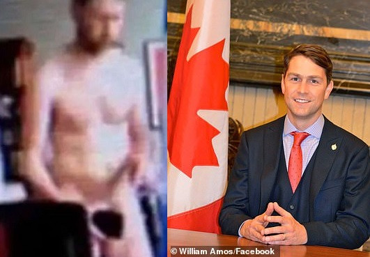 PHOTO: Canadian lawmaker appears completely naked on Zoom meeting after 'accidentally' leaving camera on