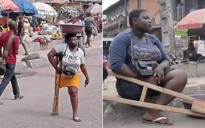 Lagos withholds N25million donation after detecting lies in viral amputee hawker's claim