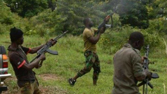 How bandits stormed military camp in Niger, set vehicles on fire
