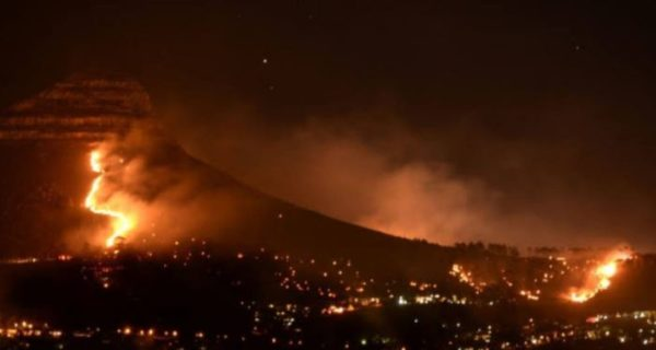 35-year-old man reportedly arrested in connection to Cape Town Fire