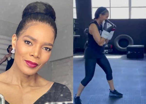 Connie Ferguson to become a professional boxer after retiring from acting