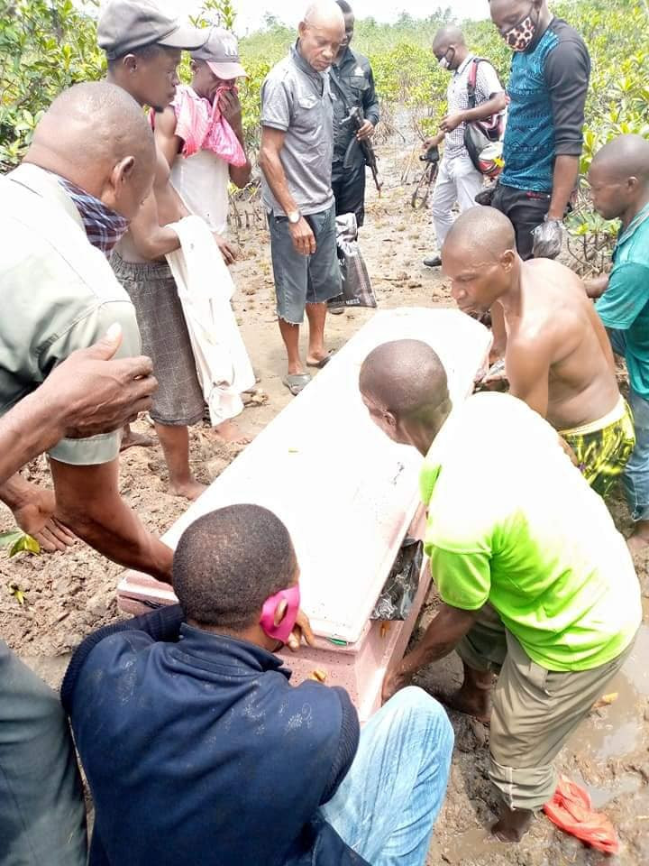 Police exhume decomposing body of kidnapped Rivers community chairman from shallow grave