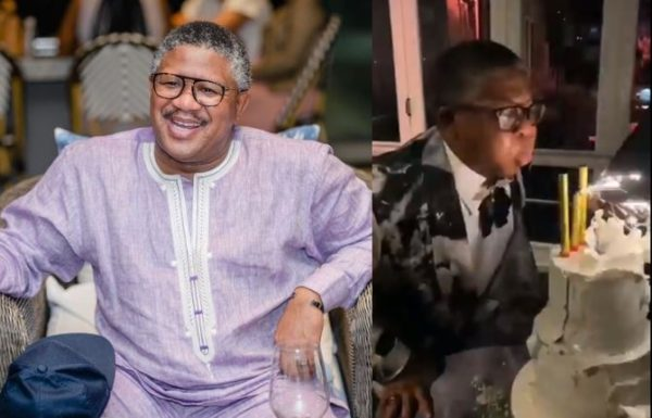 See funny video of Fikile Mbalula blowing off fireworks