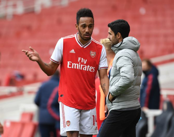 EPL: Arteta names Arsenal player that'll not play again this season