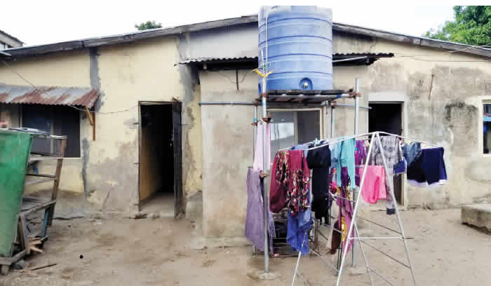 Pregnant woman's corpse found in bathroom in Lagos