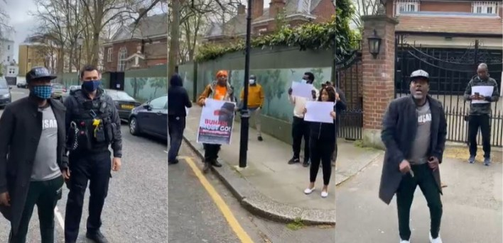 Stop assaulting PMB's fundamental right to life, Nigeria First cautions London protesters