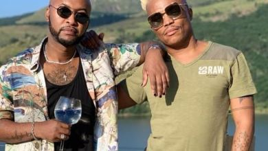 Somizi and bestie, Vusi Nova flaunt luxurious cars – Photos