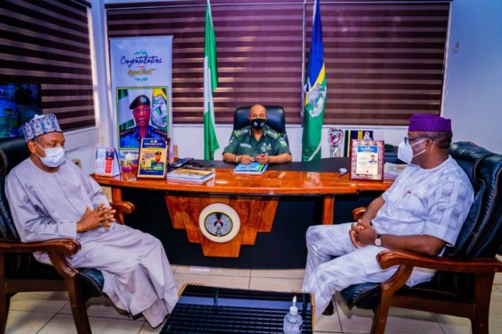 Gov Fayemi, Bagudu meet IG to proffer ways of tackling security challenges