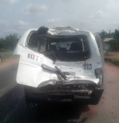 Four kids, 24 others injured as truck rams into two buses in Anambra