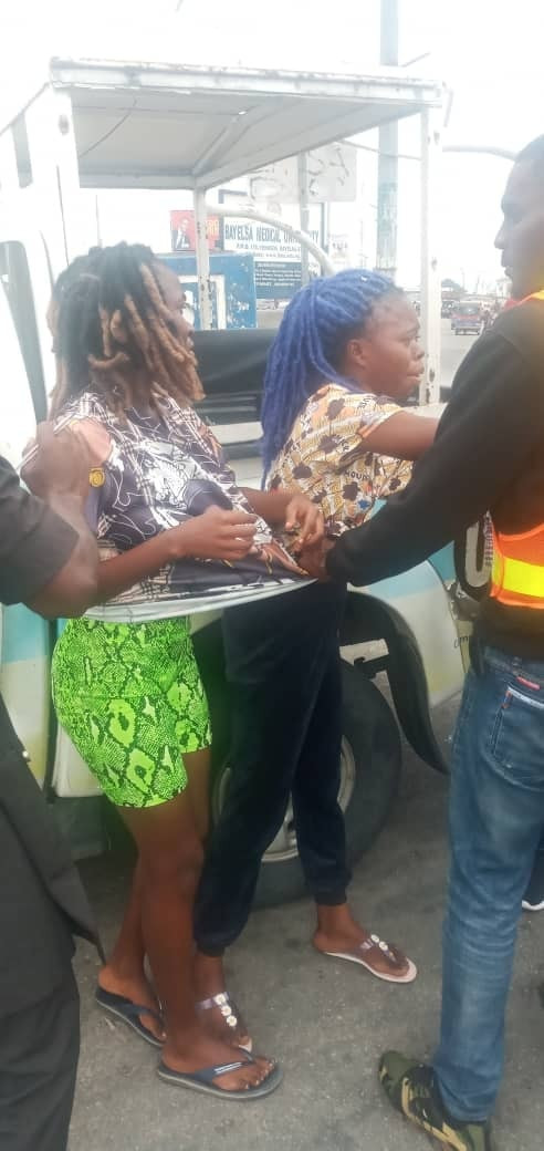 Bayelsa Vigilante arrests two women, one other for allegedly robbing 15-year-old girl