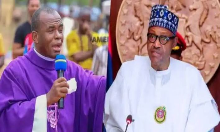Resign now because God is angry with you, Mbaka tells President Buhari