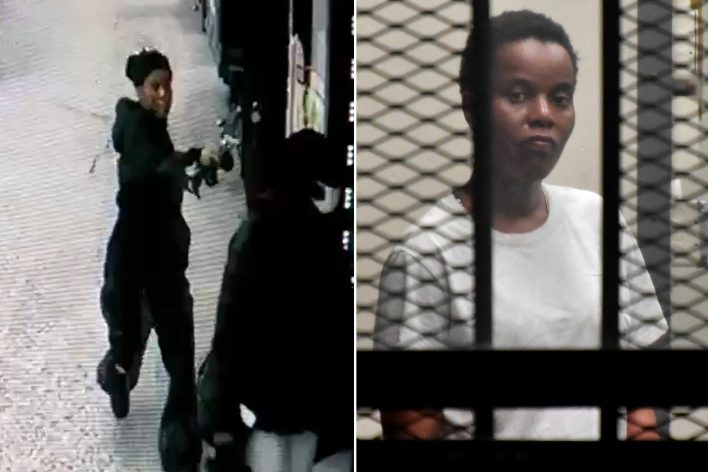 Woman seen in chilling video executing ex-girlfriend on NYC street in broad daylight
