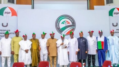 Start constitutional review process, PDP governors tell President Buhari