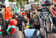 Strike: Thugs storm NEPA roundabout, disrupt NLC rally in Kaduna