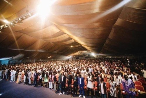 PHOTOS: Christ Embassy In Trouble For Flouting COVID-19 Rules In Ghana At 'Pneumatic Night'
