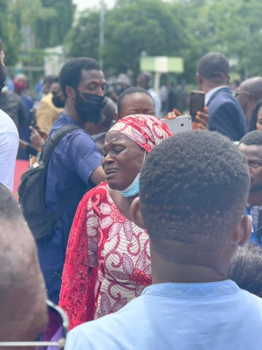 PHOTOS: Parents of abducted Greenfield University students stage protest in Abuja