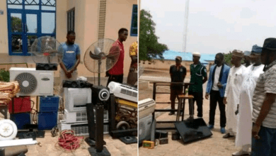 PHOTOS: 2 Bida Poly students, 1 other arrested for alleged burglary and theft on campus