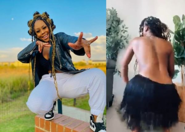 Breathtaking! Bontle Modiselle whines waist to Caltonic SA Amapiano beat (Video)