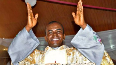 Catholic Bishop calls for prayer of atonement, says Mbaka's followers desecrated holy altar