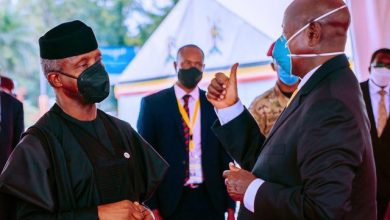 Osinbajo graces Museveni's inauguration in Kampala