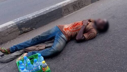 Hit-and-run driver crushes street trader to death in Lagos