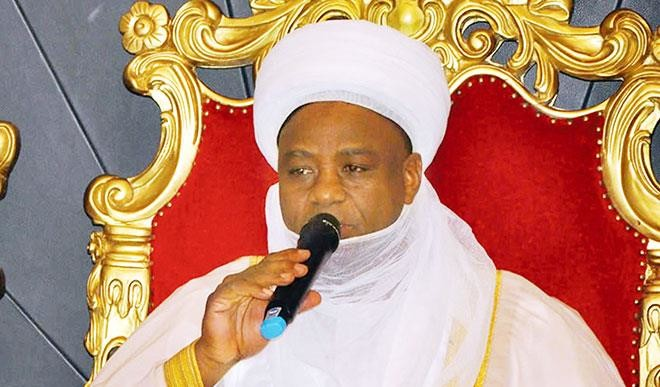 Sultan of Sokoto speaks on insecurity, says there can not be war in Nigeria
