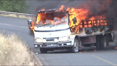 Angry youths set truck ablaze as two die in Ondo auto crash