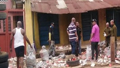 Fear grips Onitsha residents as truckload of live bullets falls