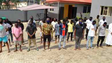 EFCC arrests runaway soldier, 33 others for internet fraud in Osun