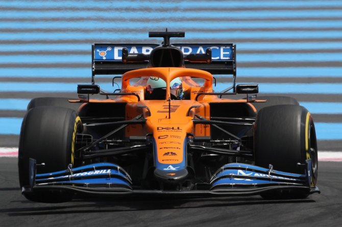 Lando Norris at the French Grand Prix