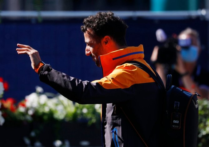 Daniel Ricciardo at the Styrian F1 GP