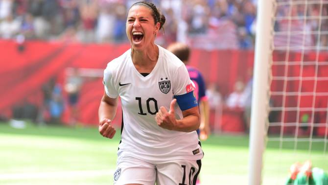 Carli Lloyd to Become the Oldest USWNT Player Ever Sent to the Olympics