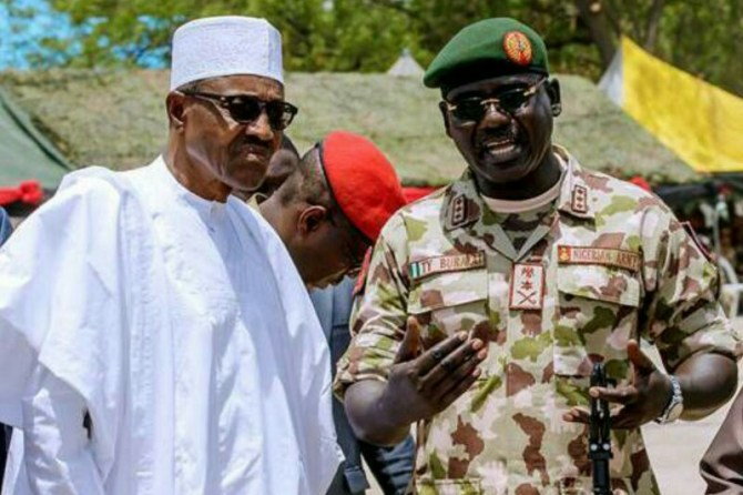 Buhari appoints Ex-Army chief, Buratai ambassador to Benin Republic