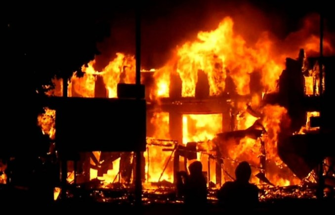 Gunmen set Imo Commissioner's house ablaze
