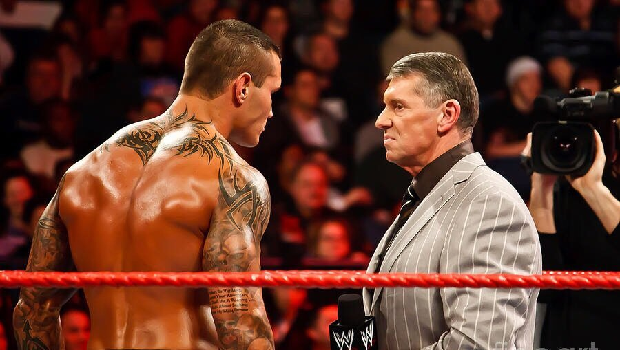 'Huge Mountains of Men'- Randy Orton Recollects His Memories of Visiting the WWE Locker Room for the First Time