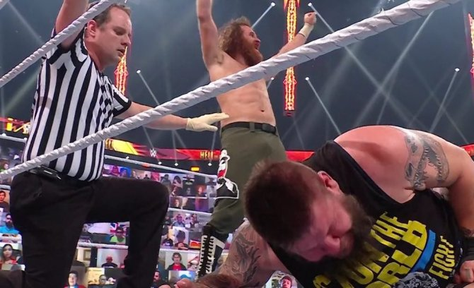 Sami Zayn Criticizes His Old Friend Kevin Owens for His Excuses after Losing at Hell in a Cell