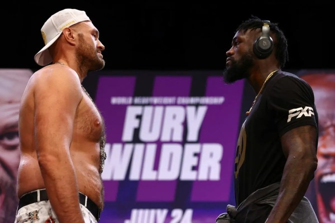 New date for Tyson Fury vs Deontay Wilder confirmed as British boxer contracts COVID-19
