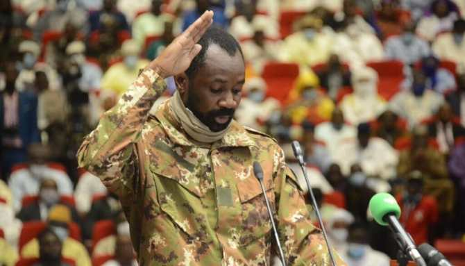 Armed men attack Mali's interim president during Eid prayers