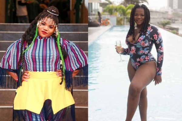 Busiswa inspires fans with weight loss story   From 101kg – 78kg in 3 years