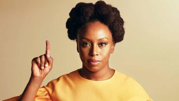 Video: Chimamanda calls out Catholic parish priest who verbally attacked her during her mother's funeral mass